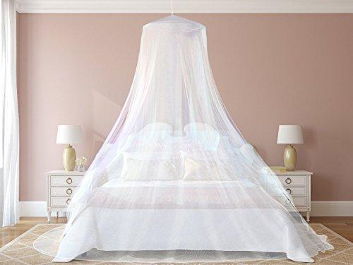 EVEN Naturals MOSKITONETZ Extra Groß Für Doppelbett, Mückennetz Bett, Baldachin  Bett, Rechteckiger Netzvorhang, Betthimmel Vorhang, Insektenschutz, ...