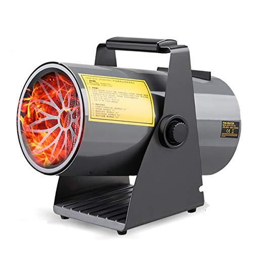 Calentador eléctrico Industrial del Ventilador de Temperatura Ajustable asistida Calefactores rápido Calentamiento...