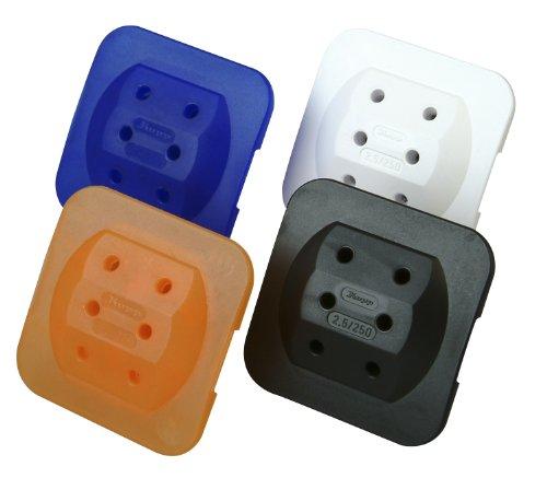 Preisvergleich Produktbild Kopp 174900003 Adapter 3-fach extra flach (farbig sortiert,  1 Stück)