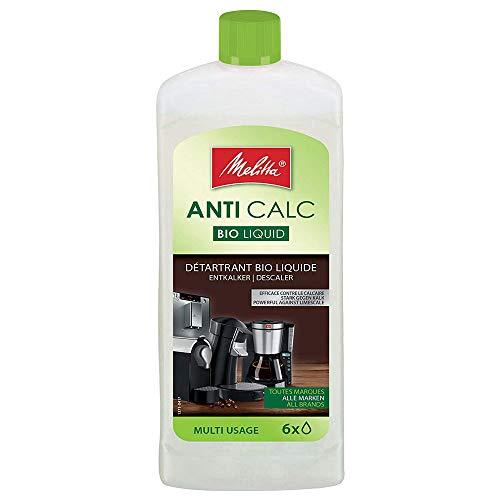Melitta Descalcificador Bio Multi, Limpiador Express, Automáticas, Cafeteras de Goteo, Líquido Biodegradable...