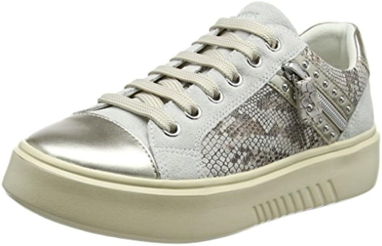 Geox D Nhenbus F, Zapatillas para Mujer