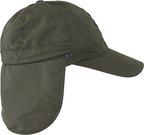 normani 2 in 1 Sommer Cap mit einrollbarem Sonnenschutz Savannah Farbe Oliv Größe L - Savannah Cap