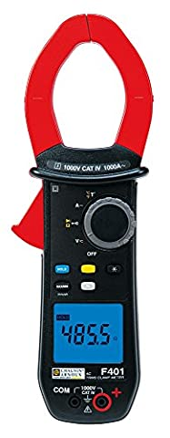 Chauvin Arnoux F401 Test Equipment Clamp meter, 10000 count, TRMS, AC, 0.15..1000 A, 1500 Peak