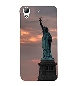 Statue of liberty Back Case Cover for HTC Desire 728g Dual::HTC Desire 728G::HTC Desire 728