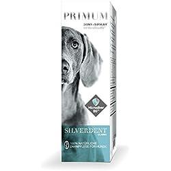 Primum | SilverDent 3in1 | Spray 75ml | 100% natürliche Zahnpflege für Hund und Katze | Gegen Zahnstein, Karies und Zahnfleischentzündungen | Schützt vor Bakterien | Bekämpft unangenehmen Mundgeruch