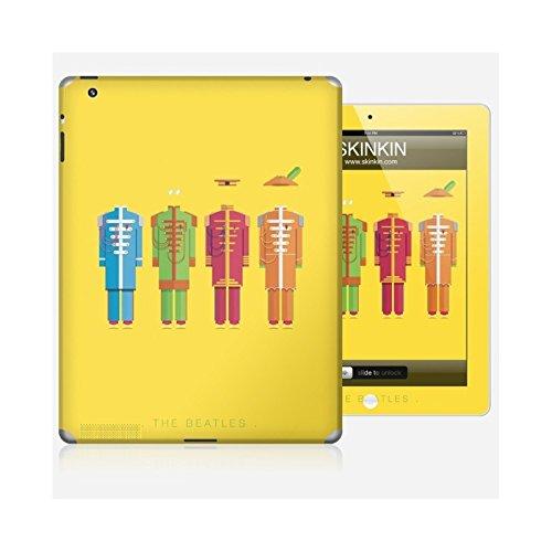 Sticker iPhone 5C de chez Skinkin - Design original : The Beatles par Frederico Birchal Skin iPad