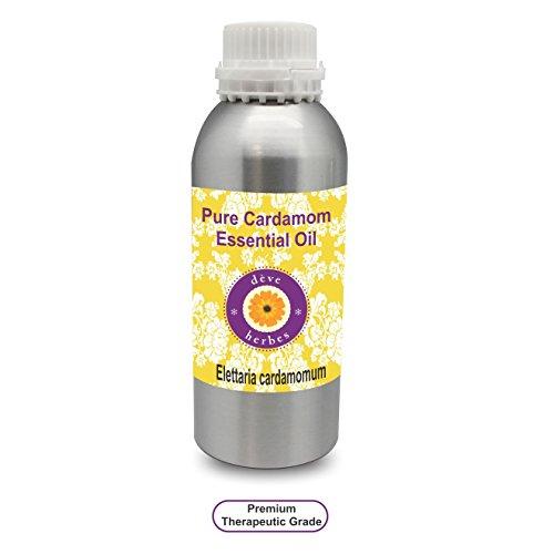 Deve Kit para Pure Cardamomo Aceite Esencial (Elettaria Cardamomum) 100% natural y terapéutica grado