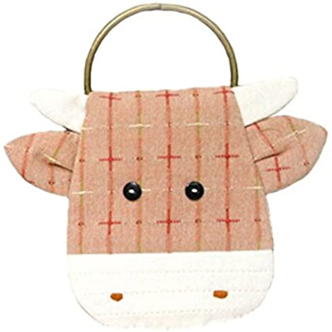 Cattle Purse making Teens progetto per cucito, kit da cucito per principianti Pink
