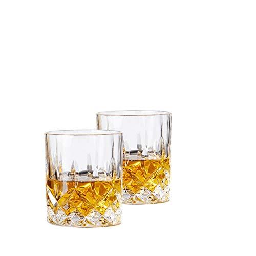 2 bâtonnets Verre En Cristal Verre De Whisky Verre À Verre Verre À Vin Tasse À Verre Bière Verre Tasse À Thé Tasse À Thé JXLBB