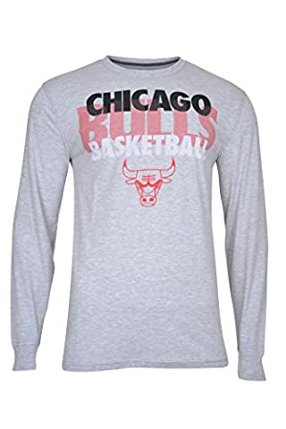 UNK Men's Supreme Nba L/S Tee, Heather Gray, X-Large