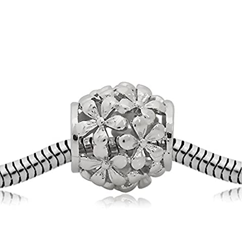 Andante-Stones Silber Bead