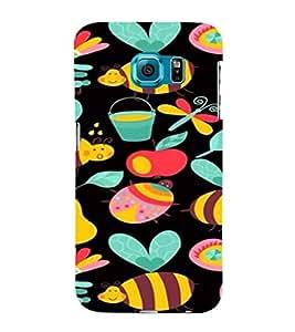 ifasho Designer Phone Back Case Cover Samsung Galaxy S6 Edge+ :: Samsung Galaxy S6 Edge Plus :: Samsung Galaxy S6 Edge+ G928G :: Samsung Galaxy S6 Edge+ G928F G928T G928A G928I ( Beige Brown Design Pattern )
