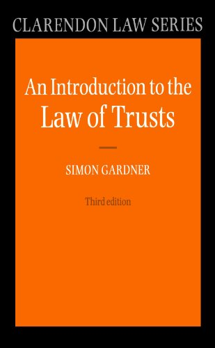 An Introduction To The Law Of Trusts (Clarendon Law) (Clarendon Law Series)