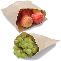 Colore: marrone Kraft-Sacchetti di carta, 21,5 x 21,5 cm, confezione 1 = 1000 sacchetti)