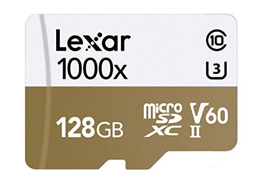 Lexar Pro microSDXC 128G 1000X 5A992 RDR BL in
