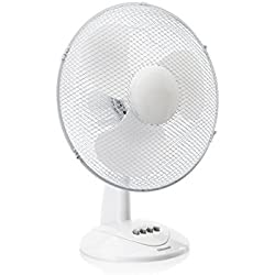 Ventilateur de table Tristar VE-5978 - 40,64 cm - Oscillant - Blanc