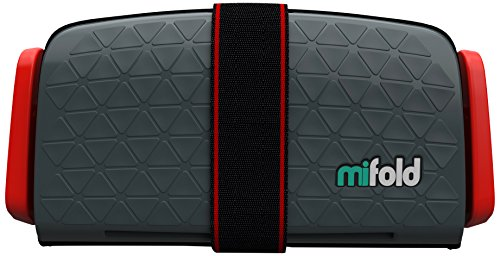 mifold MF01-DE/GRY Grab-and-Go Booster, Kindersitz, schiefergrau