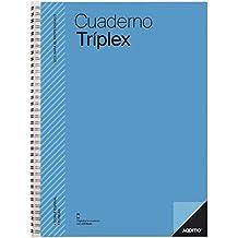 Additio P192 Cuaderno Tríplex, Colores Surtidos