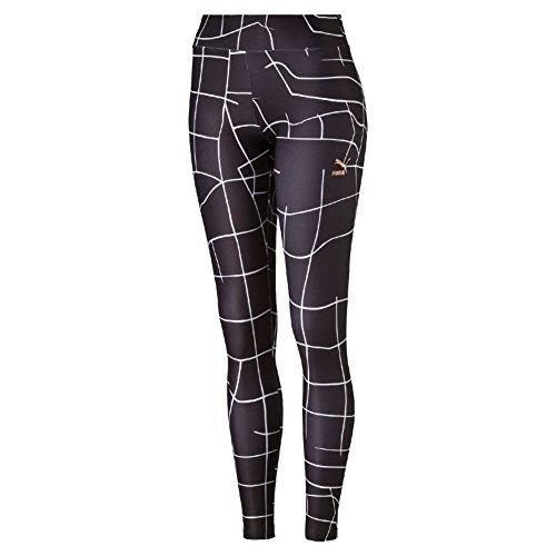 Puma Evo Grid Legging Pantalone Sportivo - Nero (Nero) - S