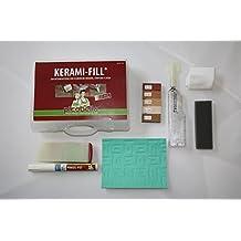 Reparatur-Set Kerami-Fill für die Instandsetzung von Schäden bei Keramik, Stein und Fliesen - Set in Terracota-Serie