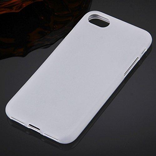 Original TheSmartGuard iPhone 8 & 7 Hülle Silikon Case Clear TPU Schutzhülle (4,7 Zoll) geeignet für iPhone 8 und iPhone 7 -- **NEU** 360°-Protection **NEU** -- in schwarz Weiß