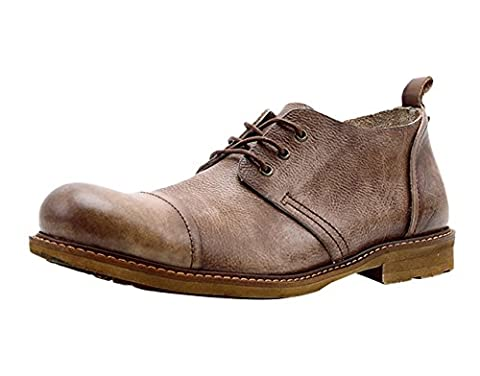 Insun , Chaussures de ville à lacets pour garçon - marron - café, 42.5