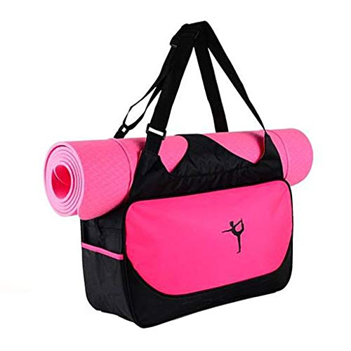 KINTRADE Yoga Mat Borsa a Mano Borsa Sportiva Impermeabile Palestra Borsa Nuova Rosa Caldo