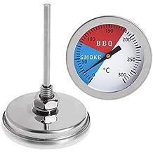 Grill Thermometer Edelstahl Smoker BBQ Räucherofen Temperatur Messen 0-300 ℃