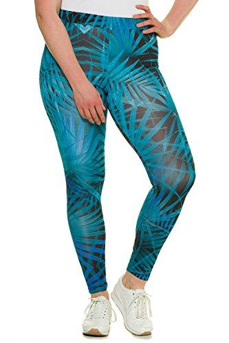 Ulla Popken Femme Grandes tailles Legging 714726 Multicolore