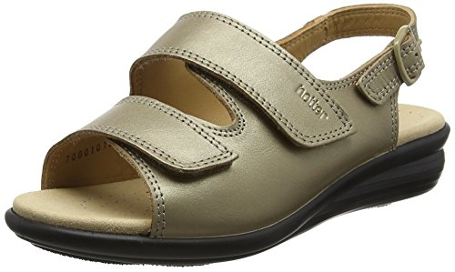 Hotter Easy EEE, Scarpe Col Tacco Donna Gold (Pale Bronze)