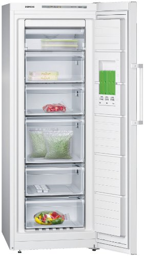 Siemens GS29NVW30G White, iQ300 A++ Energy Rating, 195 litre, 60cm Wide, Upright Freezer lowest price