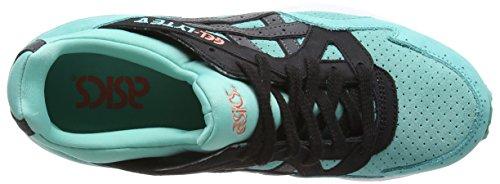 Asics Gel-Lyte V - Scarpe da Ginnastica Basse Unisex – Adulto, Blu (Coral/Black 2290), 43 EU Verde (turquoise/black 7790)
