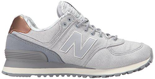 New Balance Wl574aea-574, Chaussures de Running Entrainement Femme Argent (Silver Mink 097)