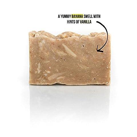 PureChimp Super Soap - 100% Natural, Handmade In The UK & Vegan - Smells Like Creamy Vanilla Bananas