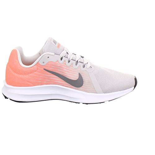 Nike Damen Downshifter 8 Laufschuhe Grau (Vast Grey/Gunsmoke-Crimson Pulse-Black 008)