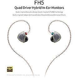 FiiO FH5écouteurs en Ear 3-Driver Hybrides Câble MMCX détachable