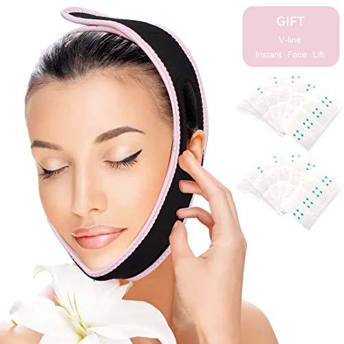 Adelgazante Facial Vendajes Cara facial adelgaza corrección