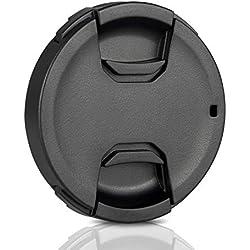 Ares Foto® 58mm Protège-objectif • Bouchon d'objectif • Protection objective • Lens Cap. Fabriqué à partir de plastique 100% recyclé. Pour Canon Sony Nikon Tamron Sigma Olympus Fujifilm Pentax