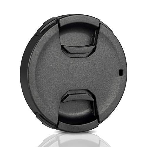 Ares Foto® 62mm Snap-On Objektivdeckel, extra Starke Federn, Kamera-Schutzdeckel aus 100{c295b8bcfe148d0c05a7bd2ac470f2046eef3f203393b44ccd092e172757d2bf} recyceltem Kunststoff - kompatibel mit Nikon, Canon, Sony, Sigma, Tamron, Olympus, Fujifilm.