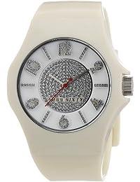 Miss Sixty FLASH R0751124501 - Reloj analógico de cuarzo para mujer, correa de resina color beige