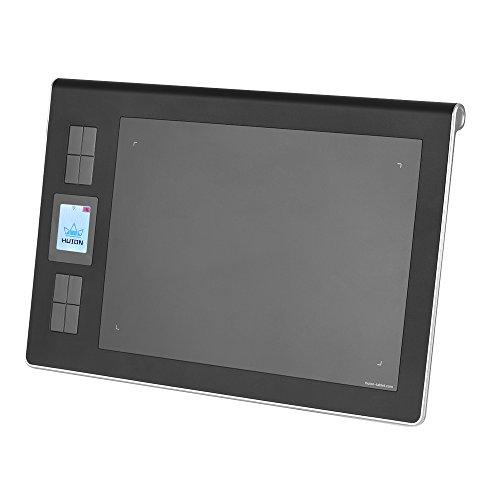 """Aibecy HUION DWH69 tragbare Wireless / Wired Zeichnung Graphics Tablet Pad 9 """"* 6"""" Aktiver Bereich eingebaute Li-Ionen-Akku mit USB-Empfänger Wiederaufladbare Digital Pen + Aibecy Reinigunstuch"""