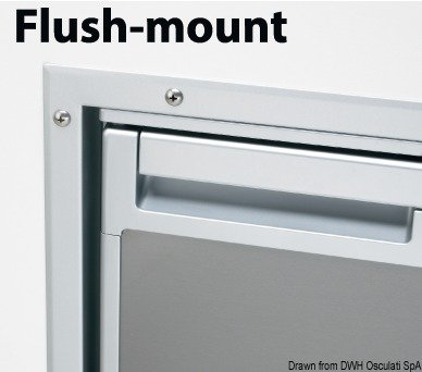 Flush-mount-sub (Rahmen flush mount f. Kühlschrank Coolmatic CR140)