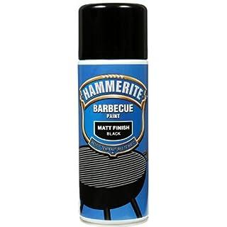 Hammerite 400ml BBQ Paint Aerosol - Matt Black