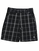 Hurley Little Boys Summer Casual Plaid Walk Shorts 6 Multicolor