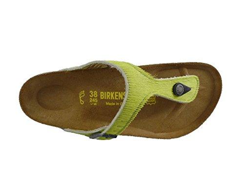BIRKENTSOCK GIZEH Flip-Flops Schuhe Sandalen Grün