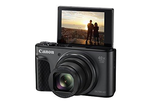 Canon PowerShot SX730 HS Fotocamera Digitale Compatta, Nero