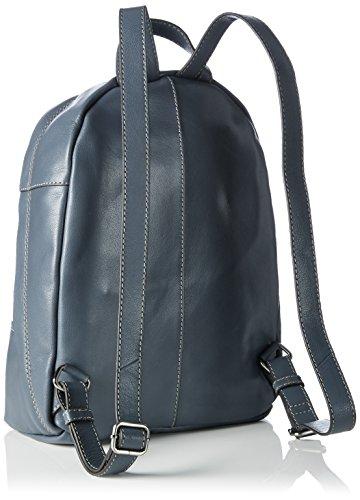 Marc O'Polo Damen Backpack M Rucksackhandtaschen, 26x36x13 cm Blau (flint stone 147)