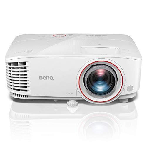BenQ TH671ST Full HD Projektor (für Gamer mit hoher Helligkeit von 3.000 ANSI Lumen, geringem Input-Lag, Short Throw und flexibler Aufstellung)