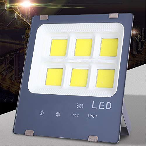 Faretto LED 100W / 200W / 300W Luce Faretto Camera Glare luminosa eccellente Industriale Progetto COB illuminazione esterna impermeabile (Size : 300W)