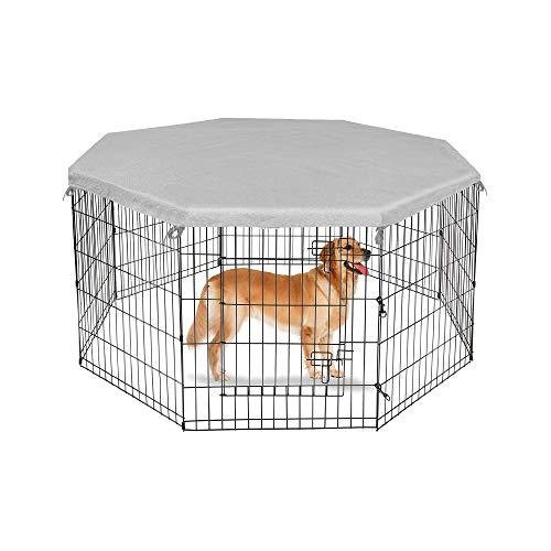 Recinzioni Per Cani In Giardino.Recinti Da Esterno Yaheetech Recinto Per Cani Cuccioli Conigli